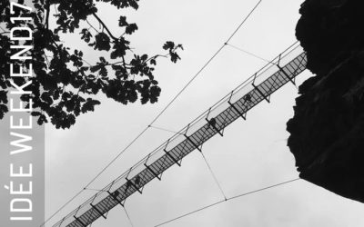 Direction la passerelle de Mazamet pour un trail à 70 m de haut !
